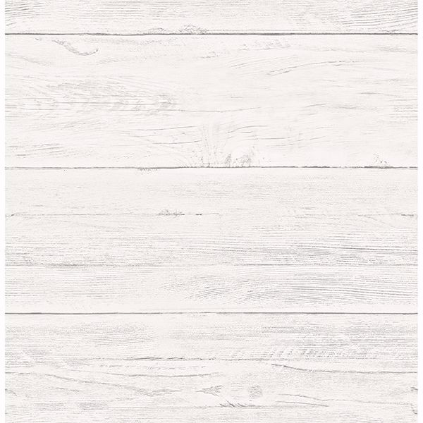 Picture of Adair White Shiplap Wallpaper