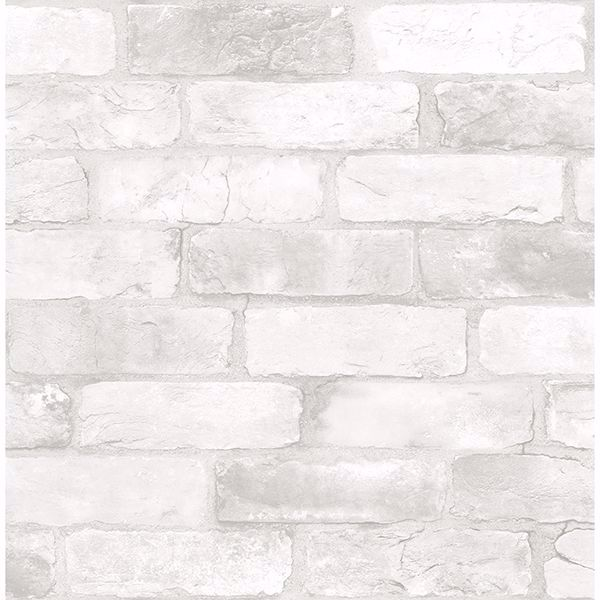 Picture of Cody Light Grey Reclaimed Bricks Wallpaper