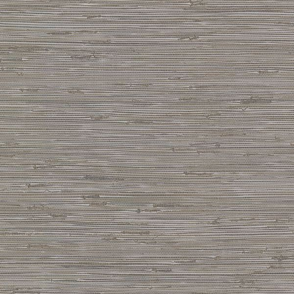 Picture of Fiber Taupe Faux Grasscloth Wallpaper