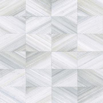 Picture of Stratum Light Blue Geometric Faux Wood Wallpaper