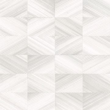 Picture of Stratum Light Grey Geometric Faux Wood Wallpaper