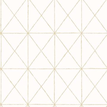 Picture of Intersection Gold Diamond Wallpaper