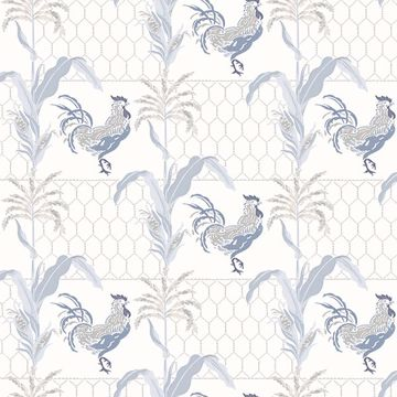 Picture of Hank Blue Rooster Wallpaper