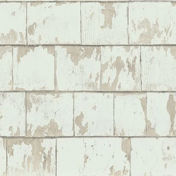 Picture of Clint Sage Weathered Wood Wallpaper