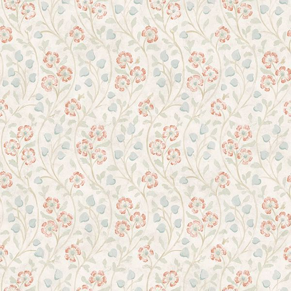 Picture of Patsy Multicolor Floral Wallpaper