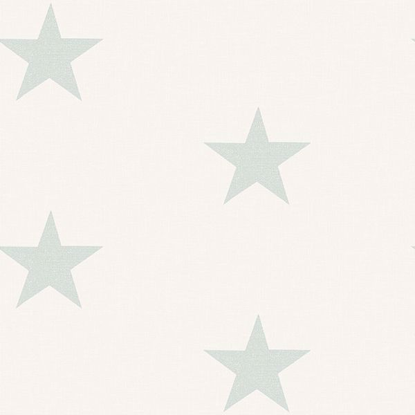 Picture of Mcgraw Teal Stars Wallpaper