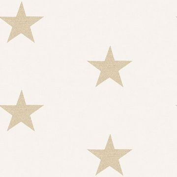 Picture of McGraw Beige Stars Wallpaper