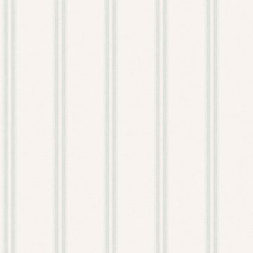 Picture of Johnny Teal Stripes Wallpaper