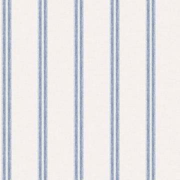 Picture of Johnny Navy Stripes Wallpaper
