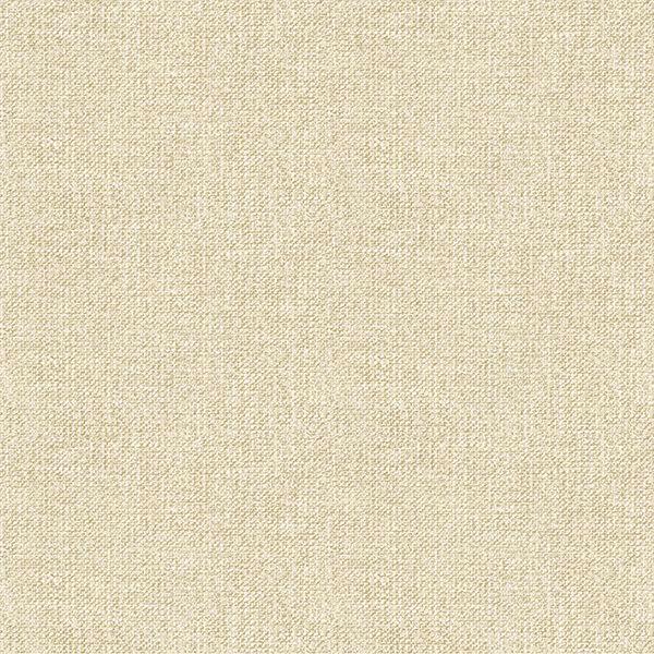 Picture of Waylon Beige Faux Fabric Wallpaper