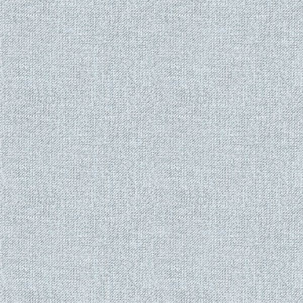 Picture of Waylon Blue Faux Fabric Wallpaper