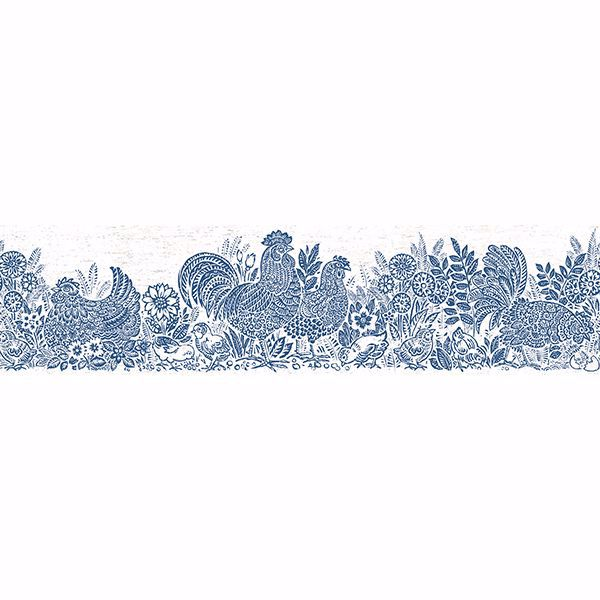 Picture of Parton Blue Chicken Border
