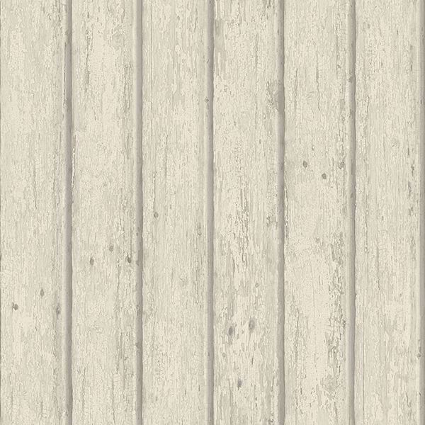 Picture of Jack Beige Weathered Clapboards Wallpaper