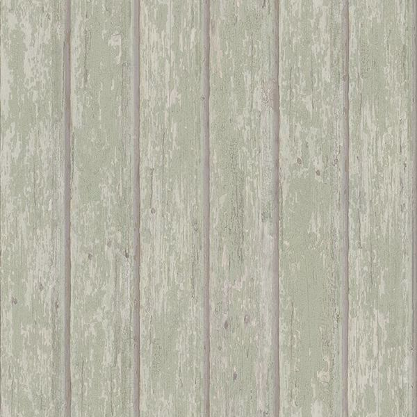 Picture of Jack Teal Weathered Clapboards Wallpaper