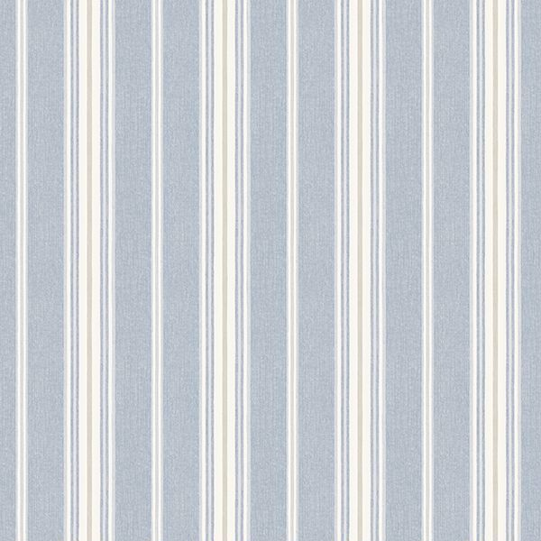 Picture of Cooper Denim Stripe Wallpaper