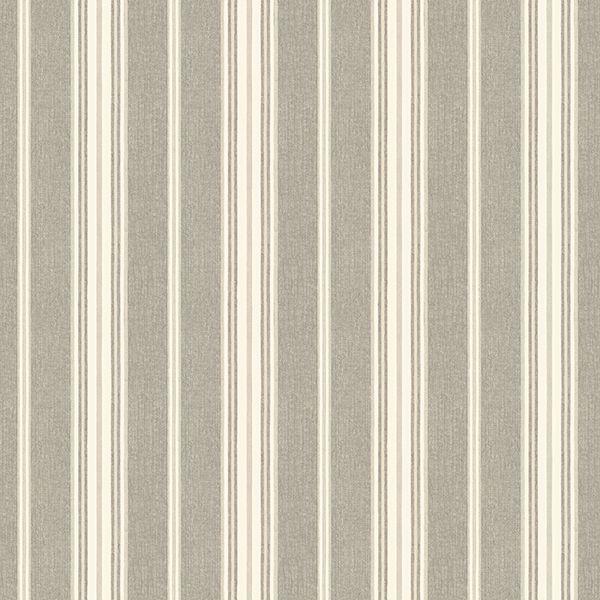 Picture of Cooper Taupe Stripe Wallpaper