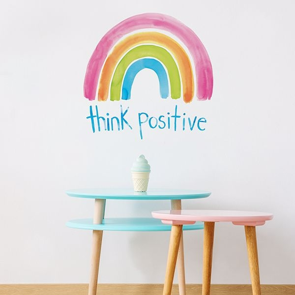 Picture of Think Positive Wall Art Kit
