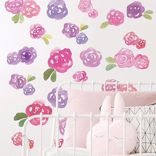 Picture of Water Rose Wall Art Kit