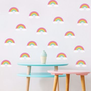 Picture of Fantastic Rainbow Wall Art Kit