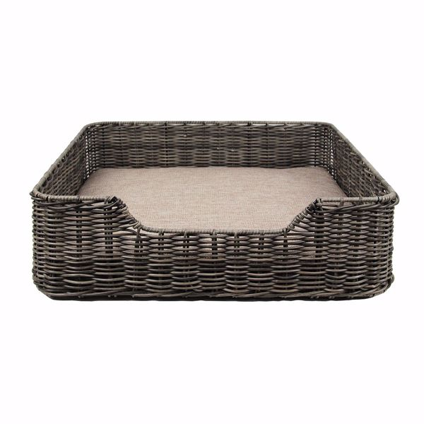 Picture of Axton Rattan Pet Bed