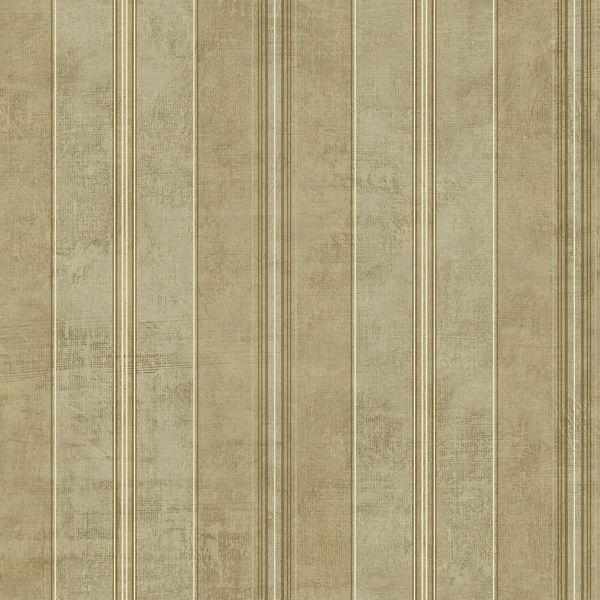 Picture of Gold Multi Stripe Wallpaper