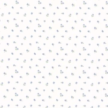 Picture of Lavender Floral Wallpaper