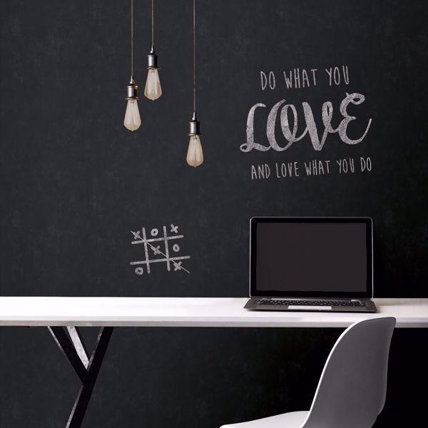 Picture of Chalkboard Peel & Stick Wallpaper