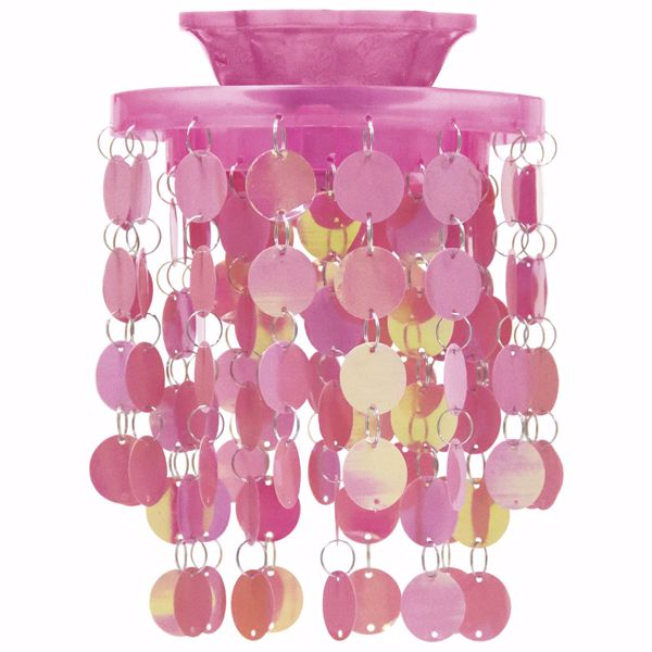 Picture of Pink Locker Chandelier