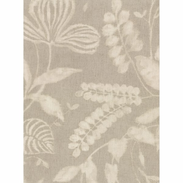 Picture of Arvada Light Grey Botanical Wallpaper