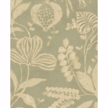 Picture of Arvada Sage Botanical Wallpaper