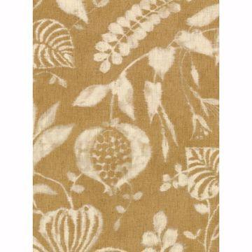 Picture of Arvada Mustard Botanical Wallpaper