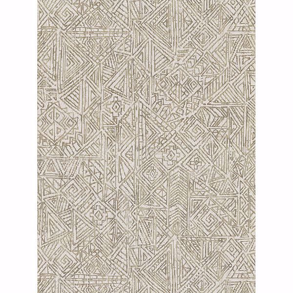 Picture of Longmont Bone Global Geometric Wallpaper