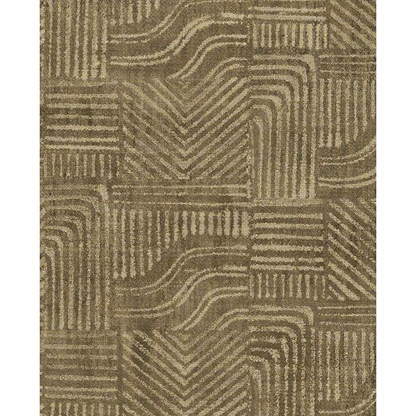 Picture of Pueblo Light Brown Global Geometric Wallpaper