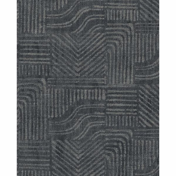 Picture of Pueblo Indigo Global Geometric Wallpaper