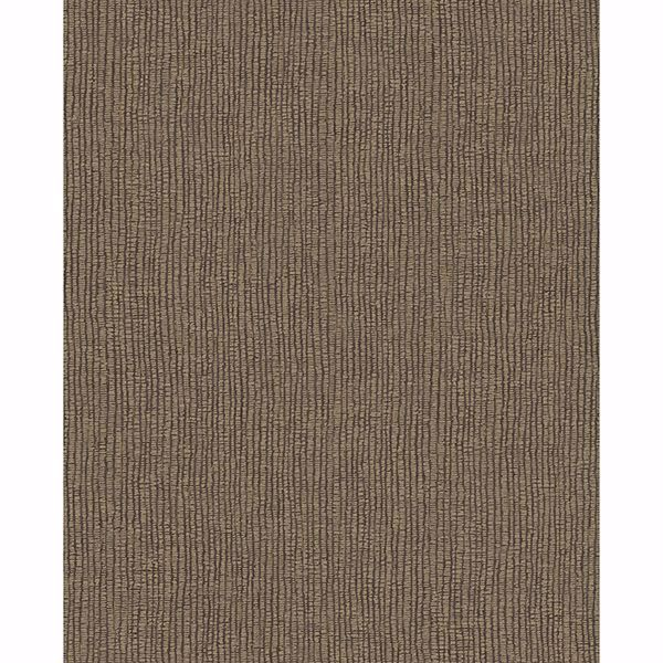 Picture of Bayfield Brown Weave Texture Wallpaper