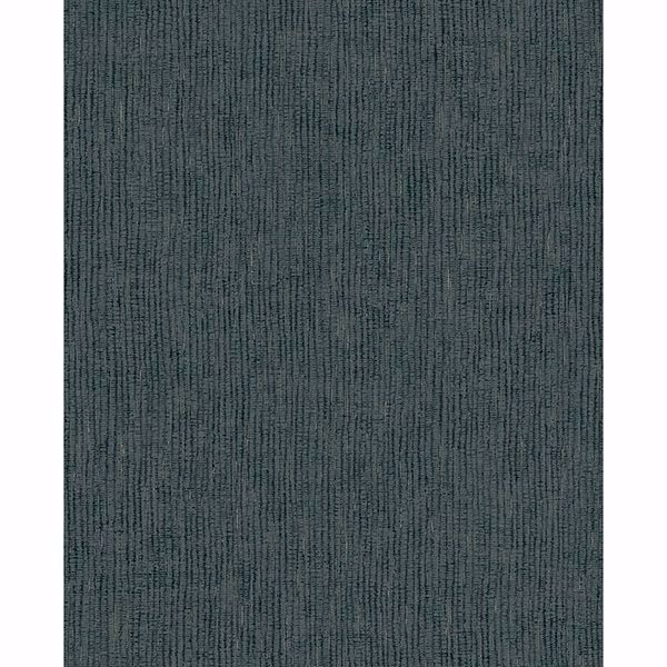 Picture of Bayfield Teal Weave Texture Wallpaper