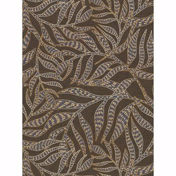Picture of Montrose Brown Leaves Wallpaper