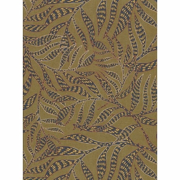 Picture of Montrose Olive Leaves Wallpaper