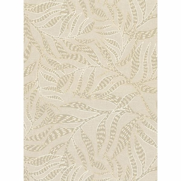 Picture of Montrose Beige Leaves Wallpaper
