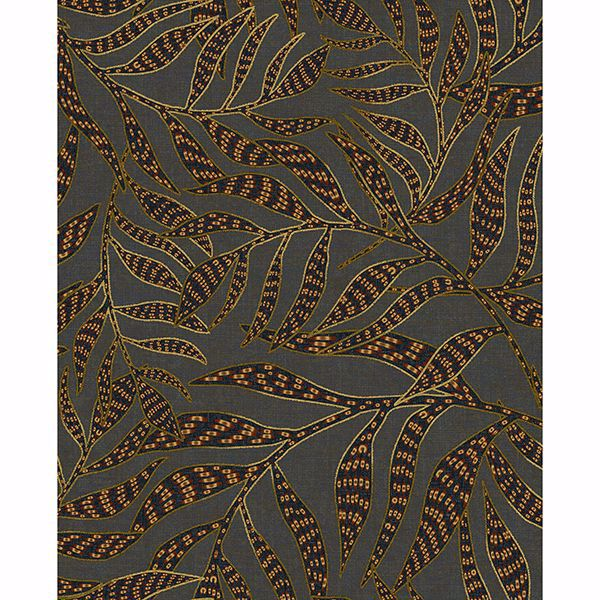 Picture of Montrose Multicolor Leaves Wallpaper