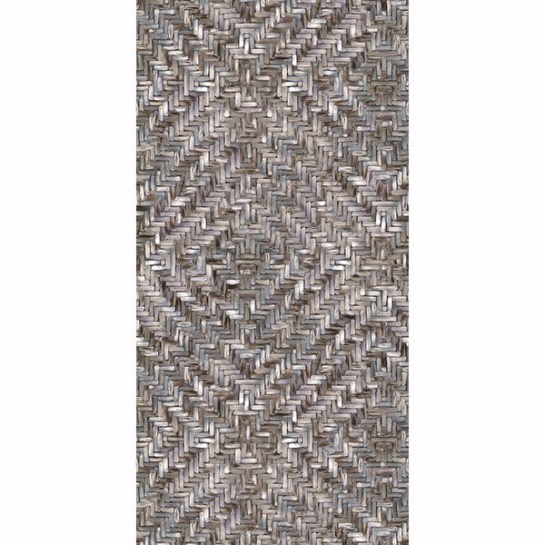 Picture of Lakewood Weave Ebony Wall Mural