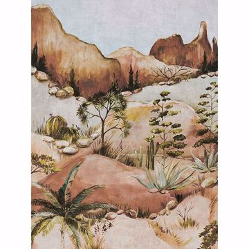 Picture of Scenic Savanna Earth Wall Mural