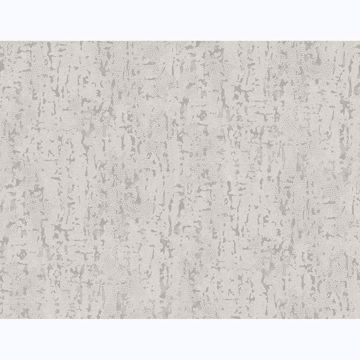 Picture of Malawi Light Grey Leather Texture Wallpaper