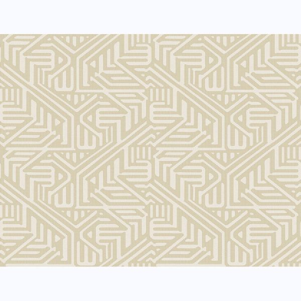 Picture of Nambiti Cream Geometric Wallpaper