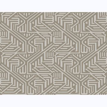 Picture of Nambiti Brown Geometric Wallpaper