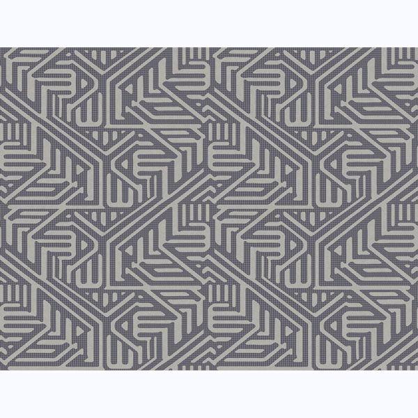 Picture of Nambiti Charcoal Geometric Wallpaper
