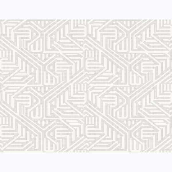 Picture of Nambiti Light Grey Geometric Wallpaper