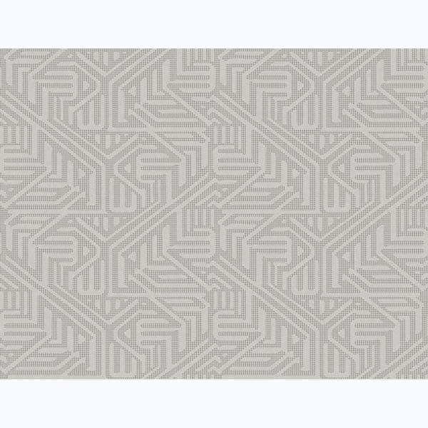 Picture of Nambiti Grey Geometric Wallpaper