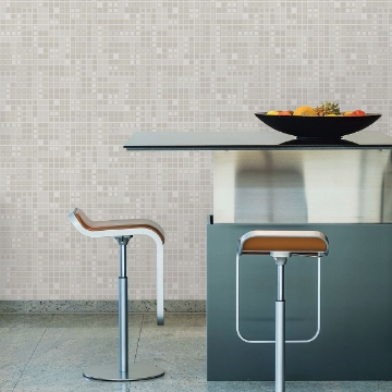 Picture of Bantry Neutral Geometric Wallpaper