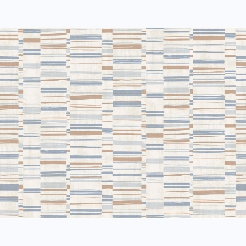 Picture of Fresnaye Light Blue Linen Stripe Wallpaper